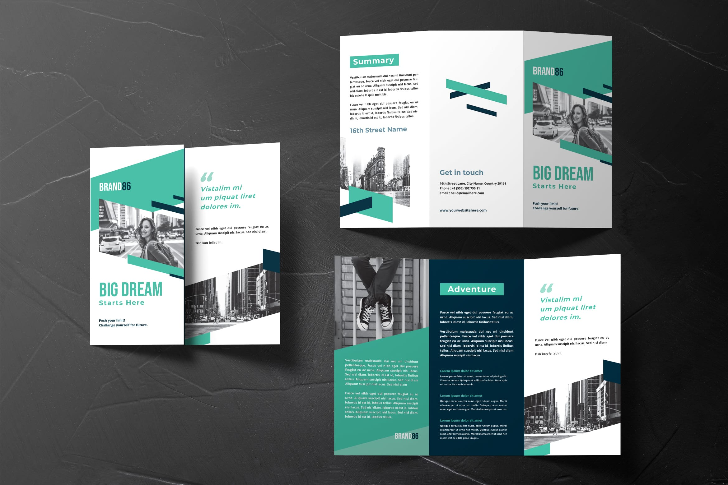 Trifold Brochure - Personal Adventure