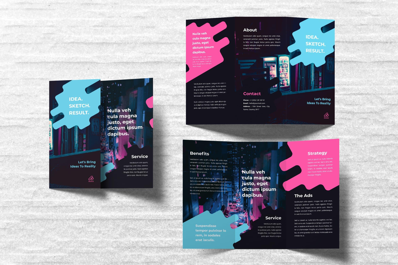 Trifold Brochure - Strategi Service Company