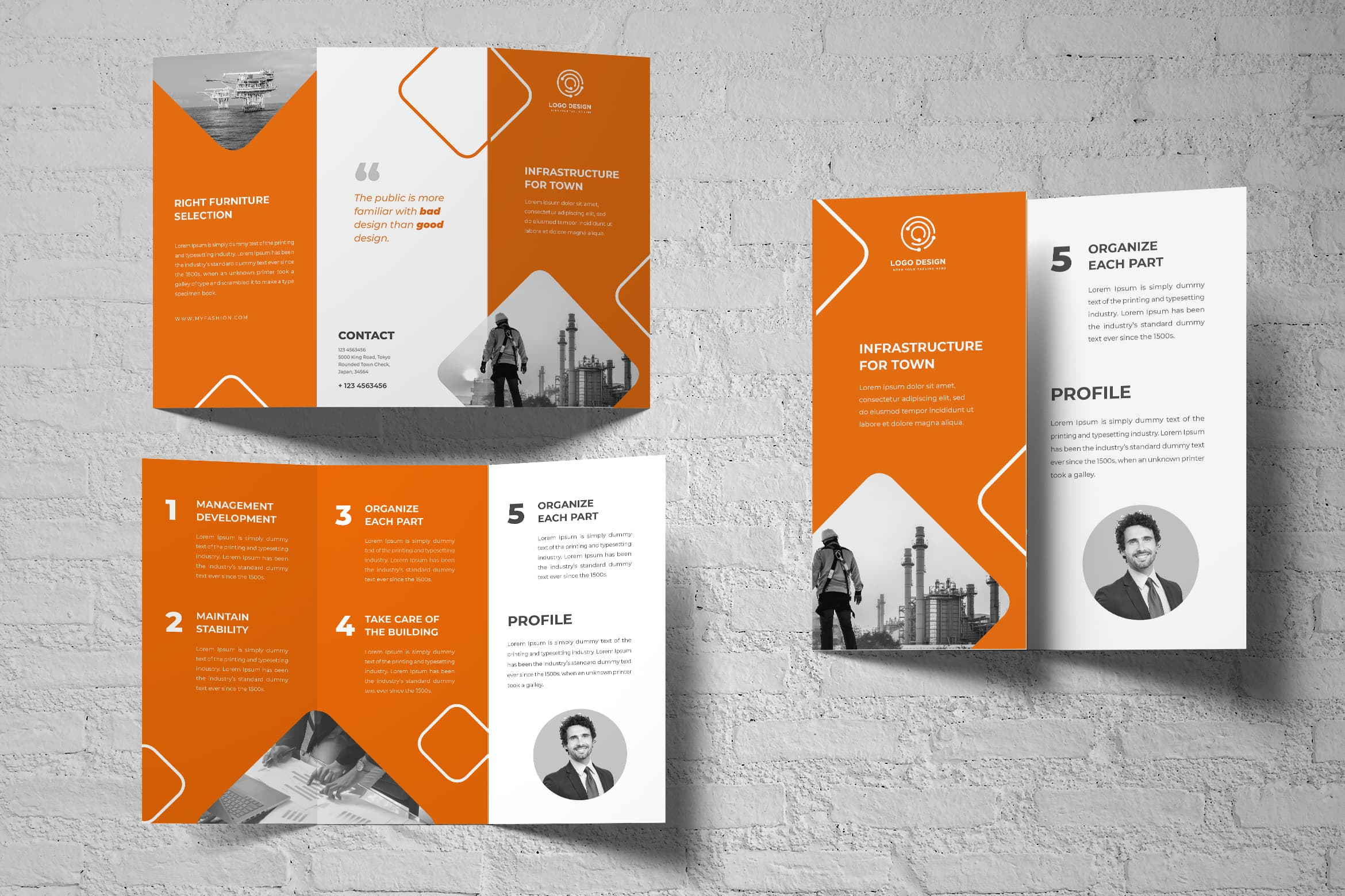 Trifold Brochure - Town Construction