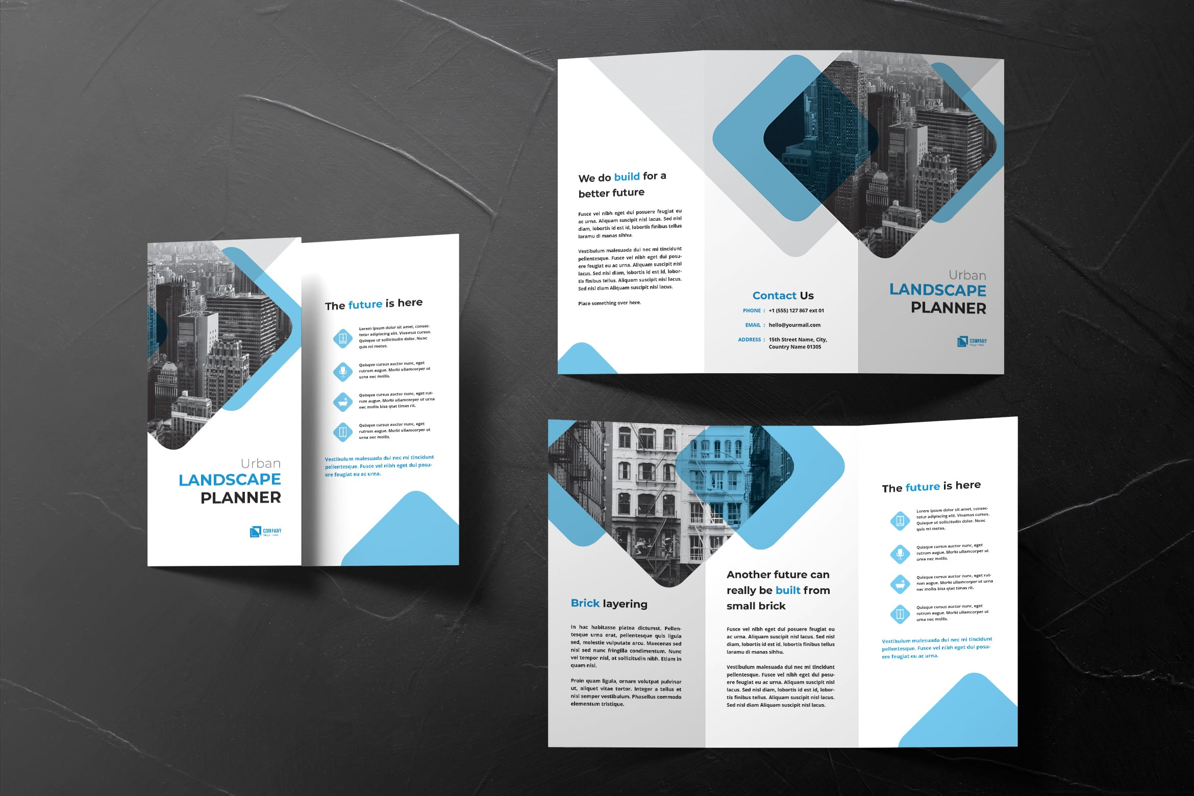 Trifold Brochure - Urban Planner