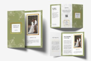 Trifold Brochure - Wedding Photography