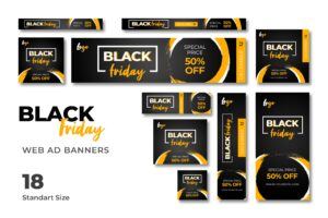 Web Banner - Black Friday Discount