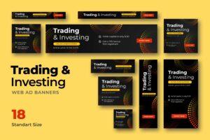Web Banner - Trading Platform