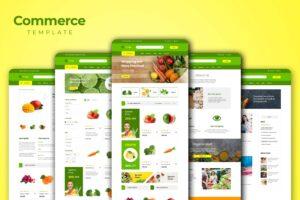 Web Commerce - Fresh Vegetables Store