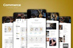 Web Commerce - Jewelry Shop