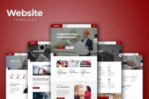 Website Template - Construction Management