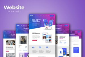 Website Template - Design Projects