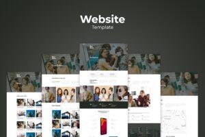 Website Template - Digital Strategist