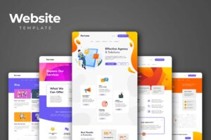 Website Template - Product Marketing Services