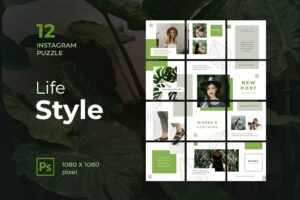Instagram Puzzle - Women Lifestyle