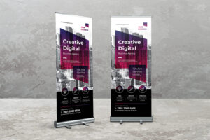 Roll Up Banner - Digital Creative Agency
