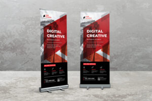 Roll Up Banner - Digital Creative Corporate