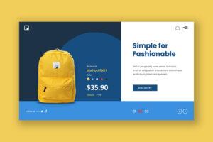 Hero Header - Simple Bags