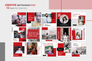 Instagram Banner - Japanese Beauty Style