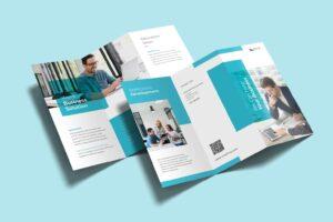 trifold brochure apps developer