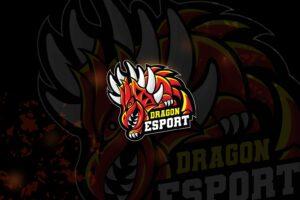 esport logo – dragon dire