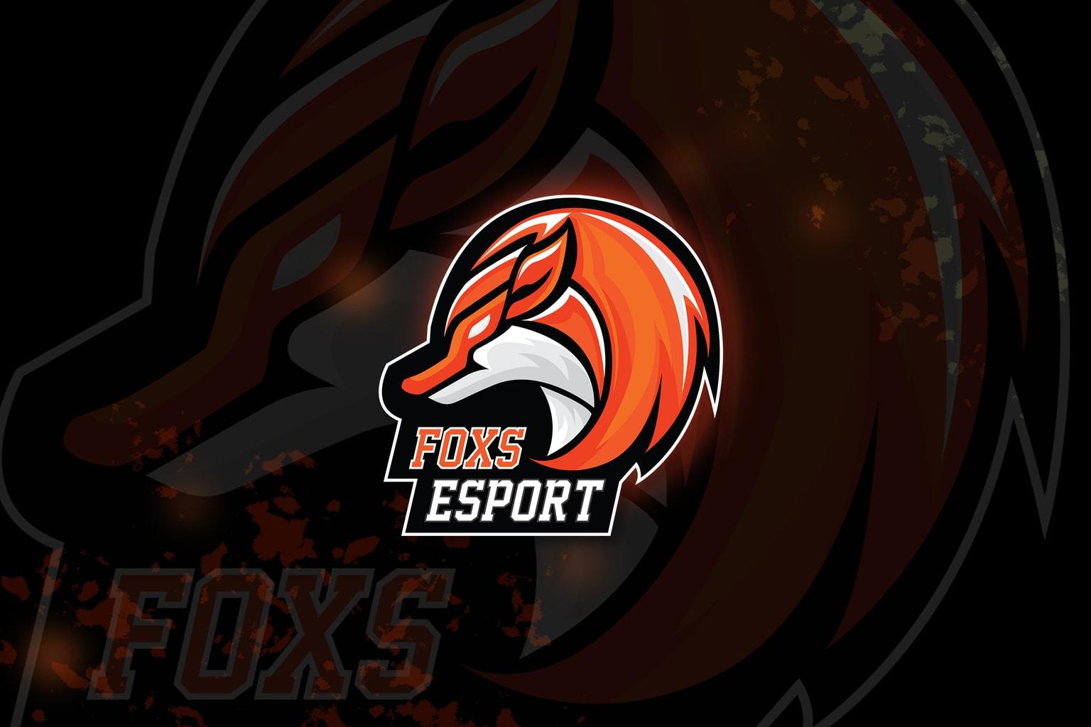 Esport Logo – Intruder Foxes