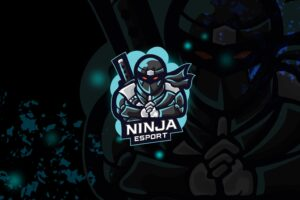 esport logo – invisible ninja