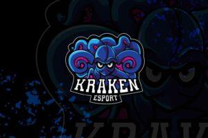 esport logo – kraken elite