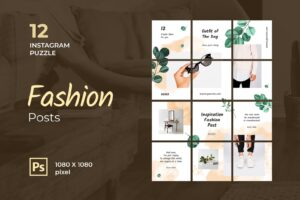 instagram puzzle – fashion inspiration