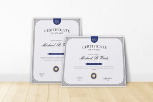 certificate brand awards