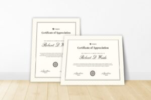 certificate company agreement