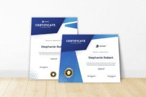certificate internship recognition