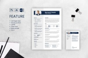 cv resume executive graphic designer