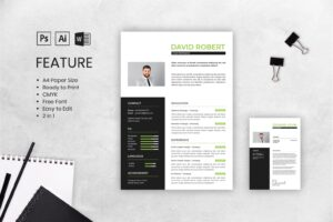 cv resume graphic design business