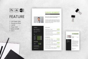cv resume graphic design business