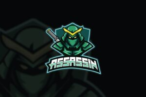 esport logo agile assassin