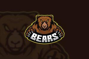 esport logo bear predator