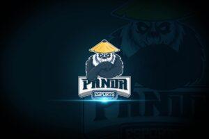 esport logo clever panda