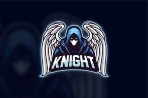 esport logo dead knight