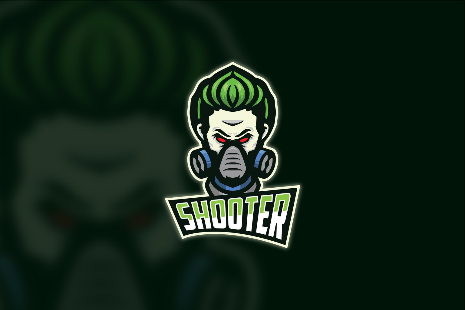 esport logo expert marksman