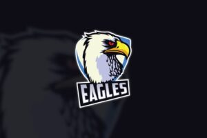 esport logo explorer eagle