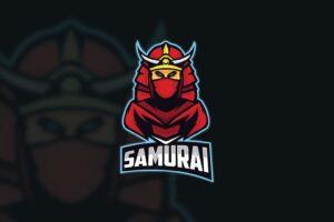 esport logo legendary samurai