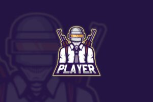 esport logo mobile player