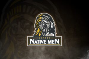 esport logo native men