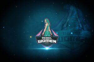 esport logo rebel women