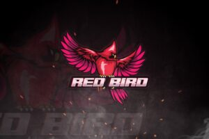 esport logo red bird