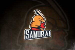 esport logo samurai chief