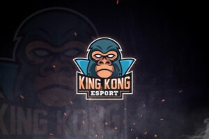 esport logo the kingkong
