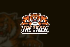esport logo the tiger wild