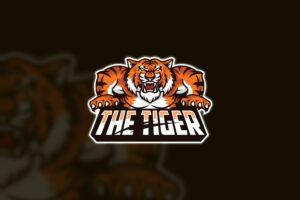 esport logo the tiger wild