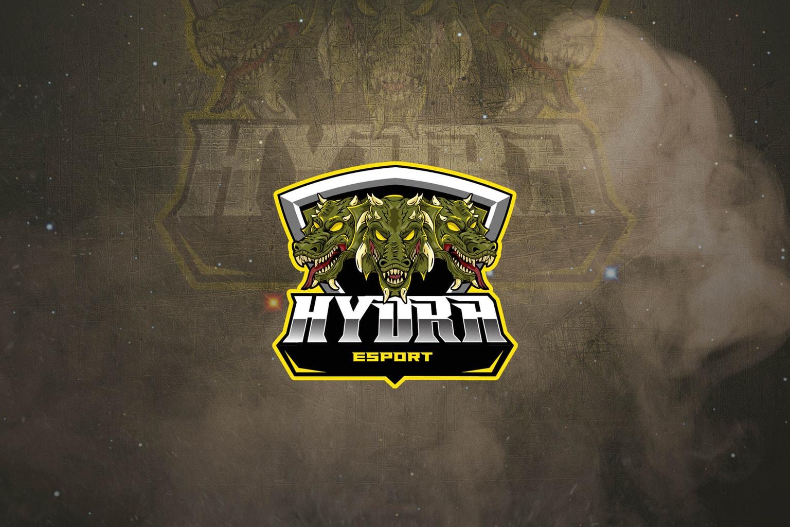 esport logo triple hydra