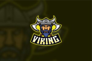 esport logo viking tribe