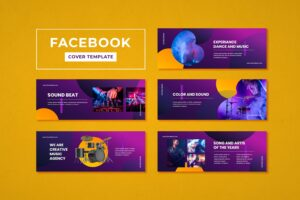 facebook cover dance music organizer