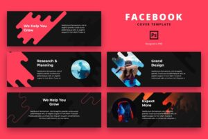 facebook cover research planning project