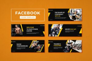 facebook cover trainer fitness center